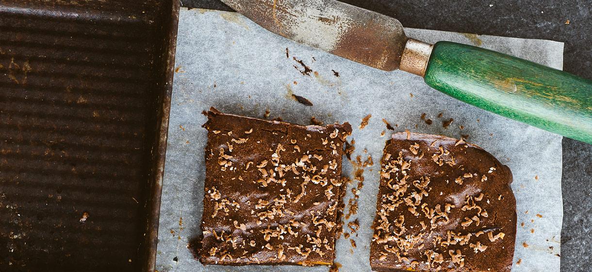 Brownies au potiron