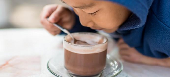 Chocolat chaud sans sucres ajoutés