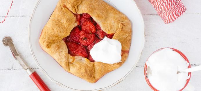 Galettes aux fraises et tagatose