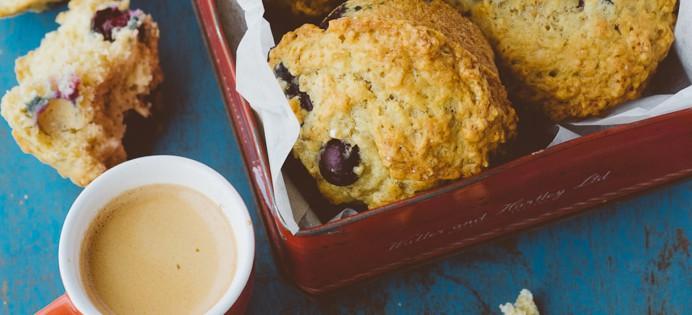 muffins aux myrtilles recettes. Black Bedroom Furniture Sets. Home Design Ideas