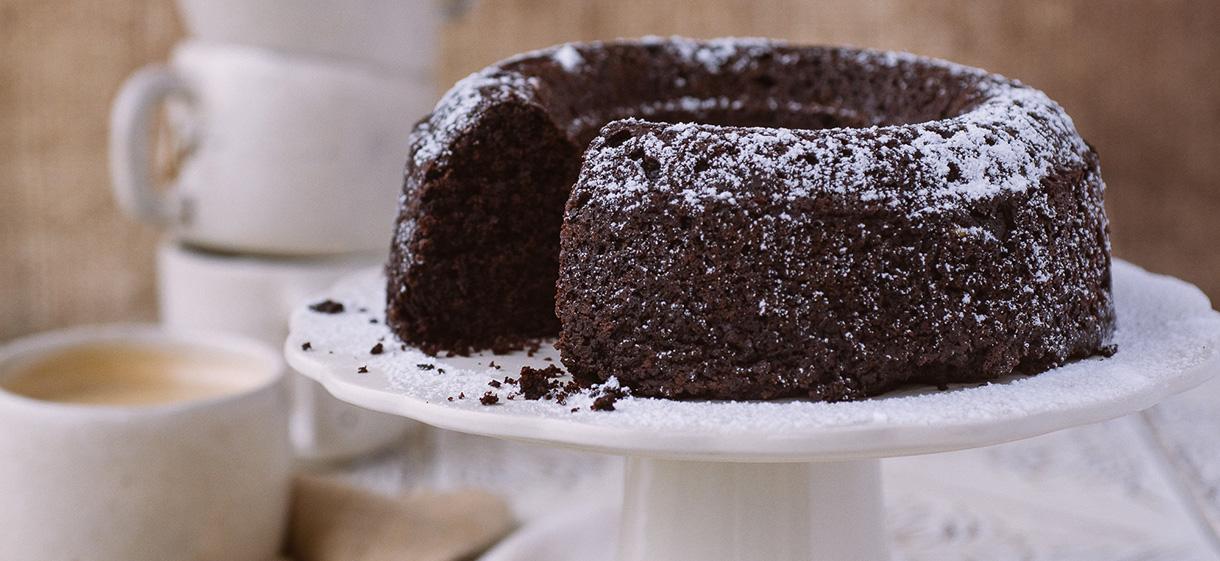 Gâteau au chocolat et betterave rouge