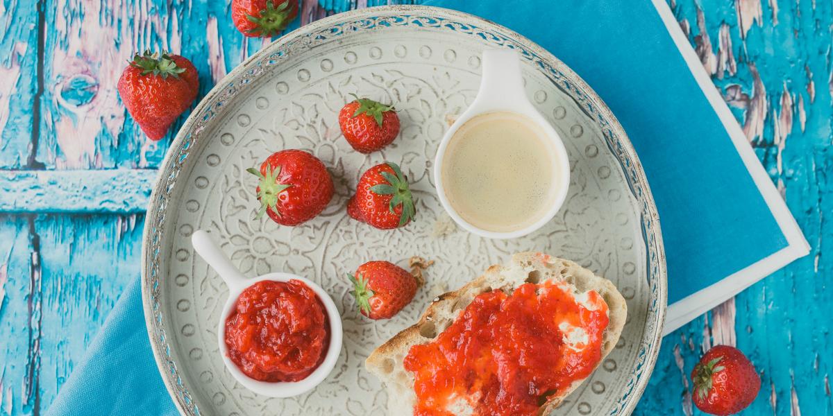 Confiture-fraises