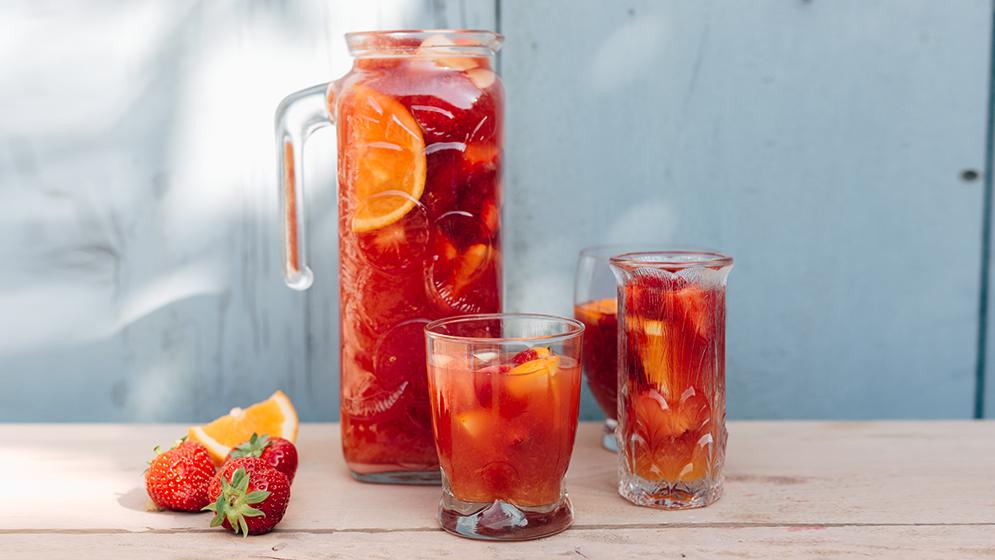 Sangria aux fruits sans alcool