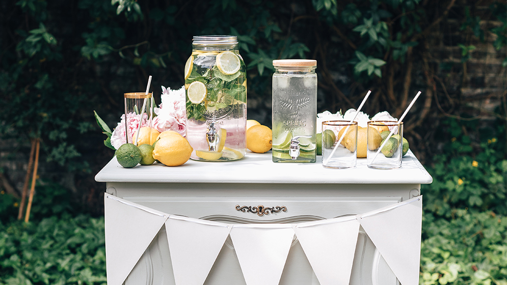Virgin margarita & bar à limonade